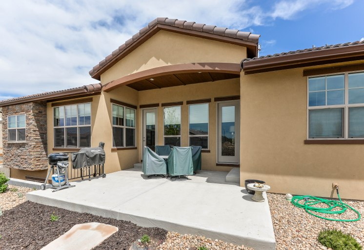 Entertain away on your private patio