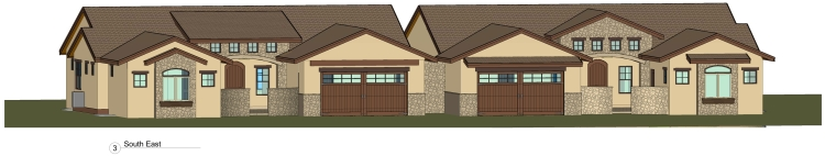 CAD Front Elevation