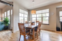 Eat in kitchen with room for a large table