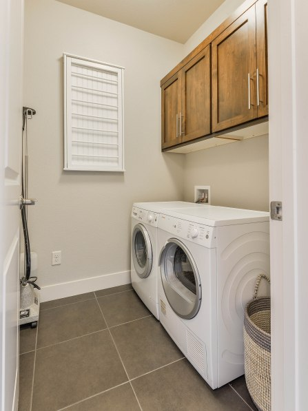Full Size Laundry Room and Cabinets