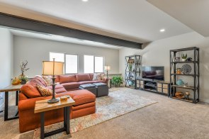 Stay cool in the finished basement during those warm Fort Collins Colorado Summers