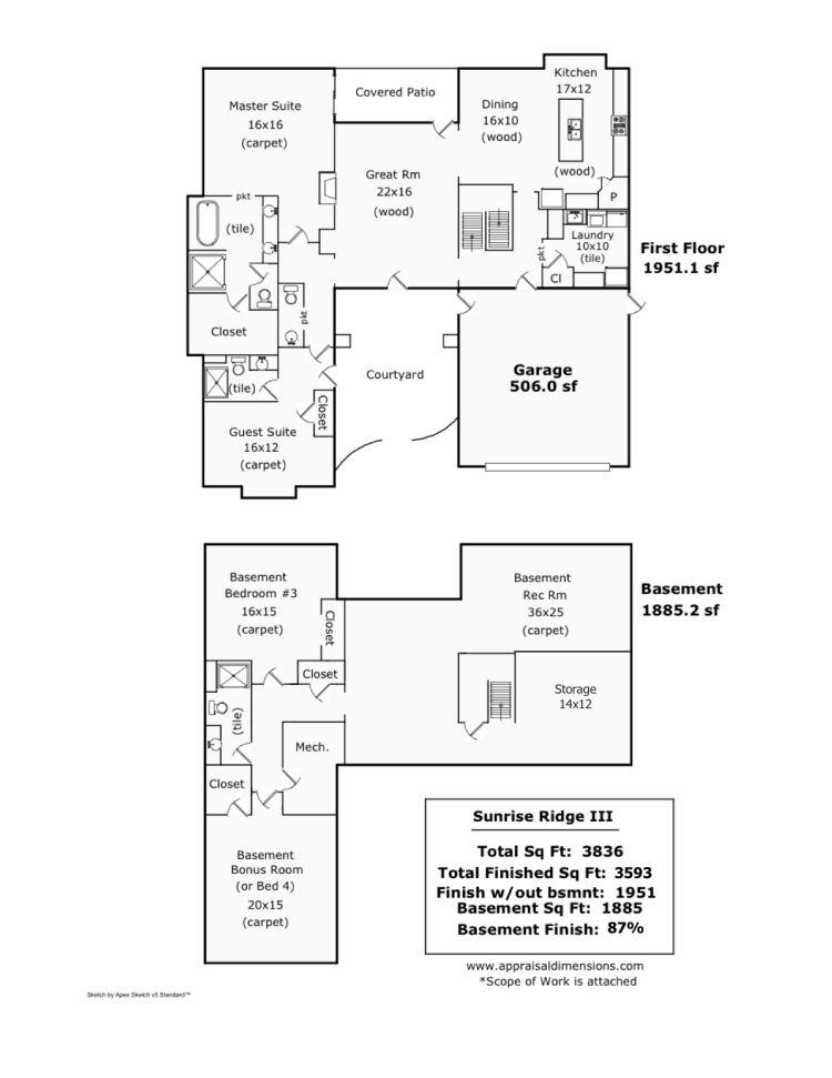 Sunrise Ridge Final Floor Plan