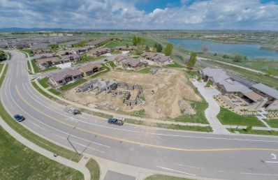 Aerial View of the Patio Homes at Sunrise Ridge