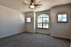 Guest bedroom or office space with private entry