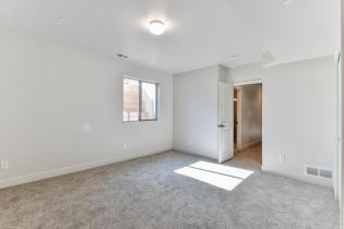 Extra bedroom options in the basement