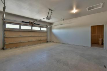 Fully insulated, dry walled and painted garage