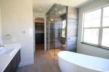 Giant soaking tub