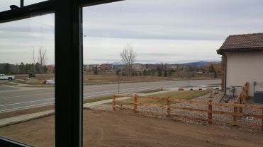 What a great view from 4014 Rock Creek