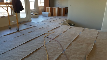 Floors are complete in 4014 Rock Creek