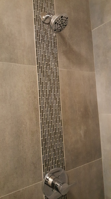 Another Custom Shower inlay