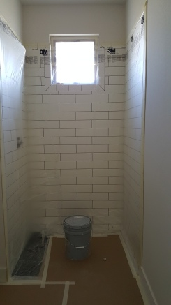 Covering tile for painting
