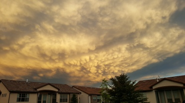 Northern Colorado Storm Clouds